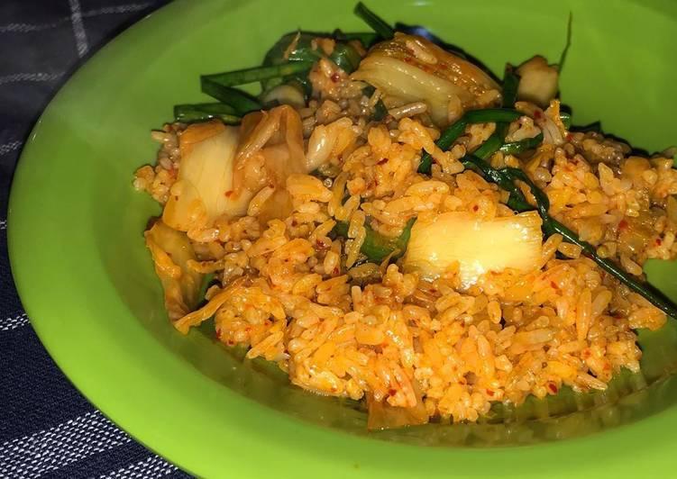 Nasi goreng kimchi #antigagal