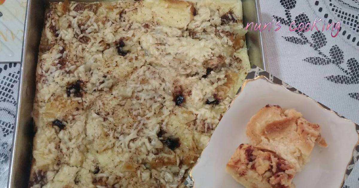 resep puding roti susu ultra yuxuan ism Resepi Jagung Bakar Keju Enak dan Mudah