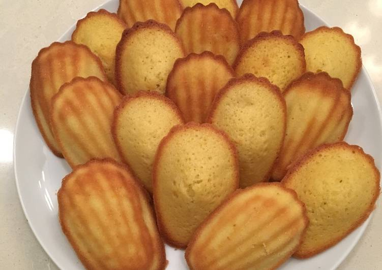 Step-by-Step Guide to Prepare Super Quick Homemade 20-minute Madeleines