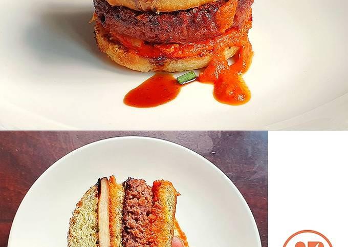 How to Cook Yummy Vegan Korean BBQ Burger