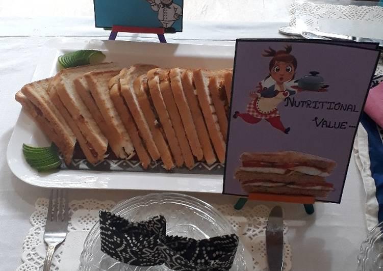 Recipe of Super Quick Homemade Chicken Fajita Sandwiches