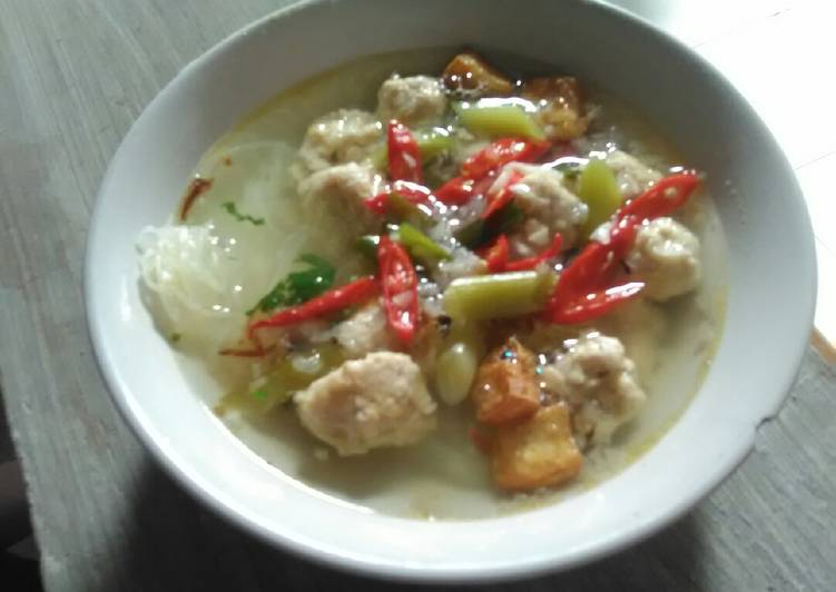 Bakso Tempe Home Made