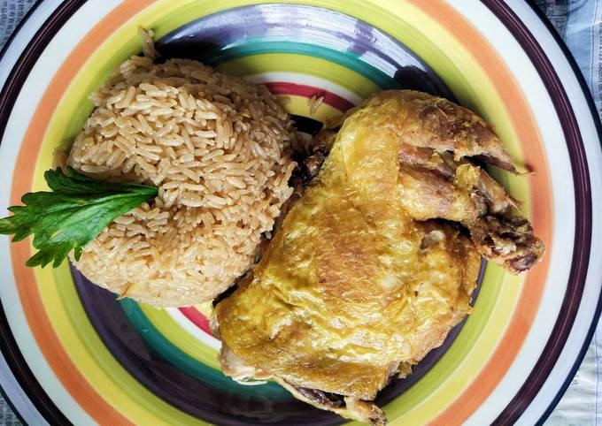 Nasi Ayam Bovril