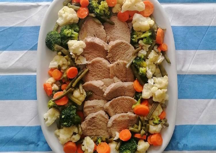 Ricetta Carne sotto sale con verdure