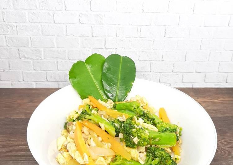 Brokoli & Wortel Asam Manis