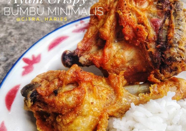 Ayam Crispy Bumbu Minimalis