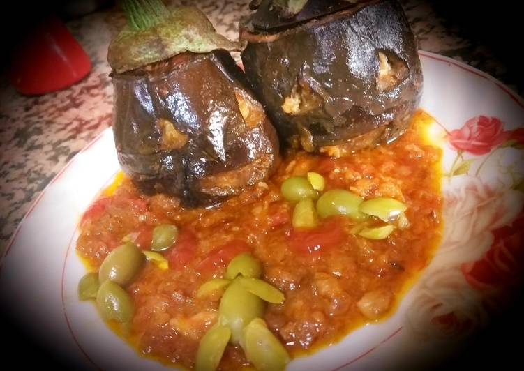 Step-by-Step Guide to Make Super Quick Homemade Eggplant stuffed with minced meat and cheese