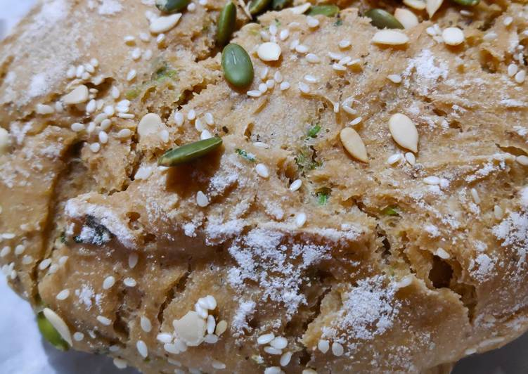 Easiest Way to Prepare Speedy Overnight no-knead artisan bread