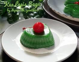 Kue Lapis Sagu Bangka AKA Kue Lapis Pepe (#pr_lapistradisional)