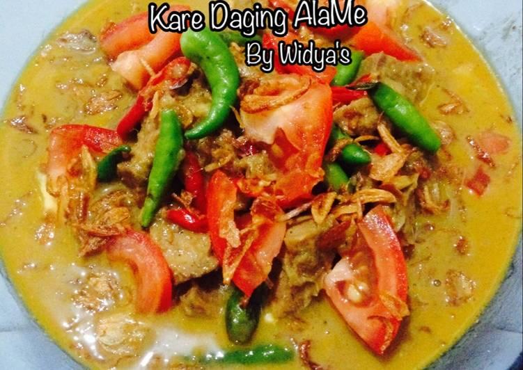 Kare Daging AlaMe