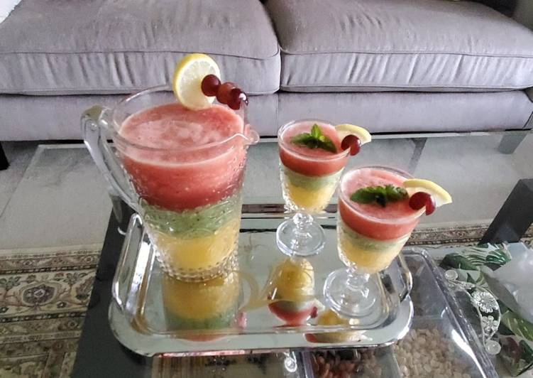 Layered Cocktail