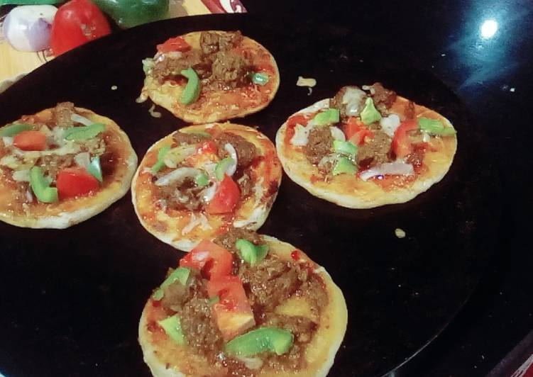 Mini Tawa pizza
