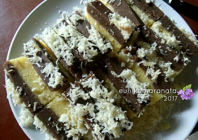 Brownies Kukus Cokelat Keju