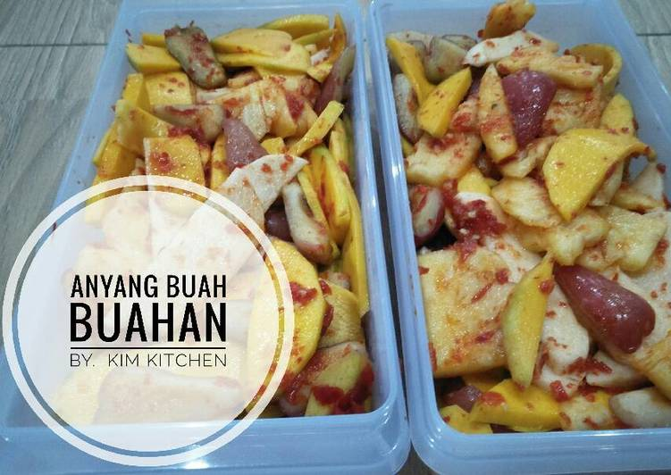 Resep Anyang Buah Buahan Oleh Kim Kitchen Cookpad
