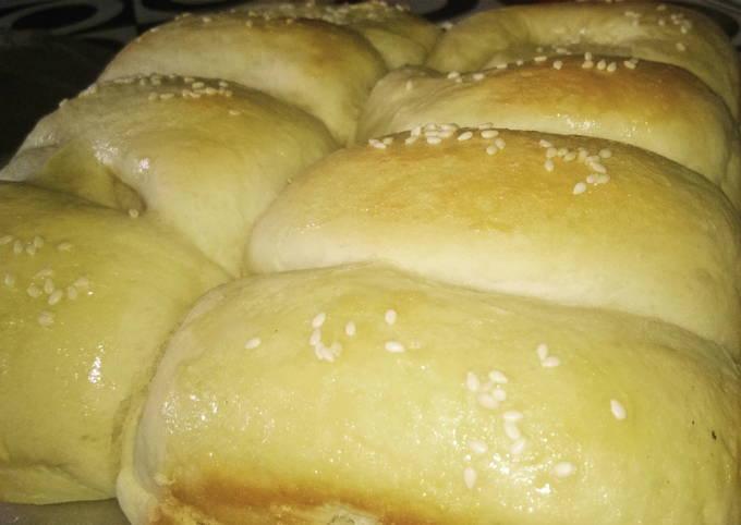 Roti Sobek SKM tanpa telur . lembut. serat panjang. simple . mudah 😋