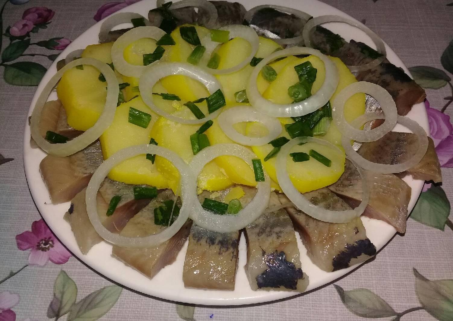 русская закуска с селедкой фото
