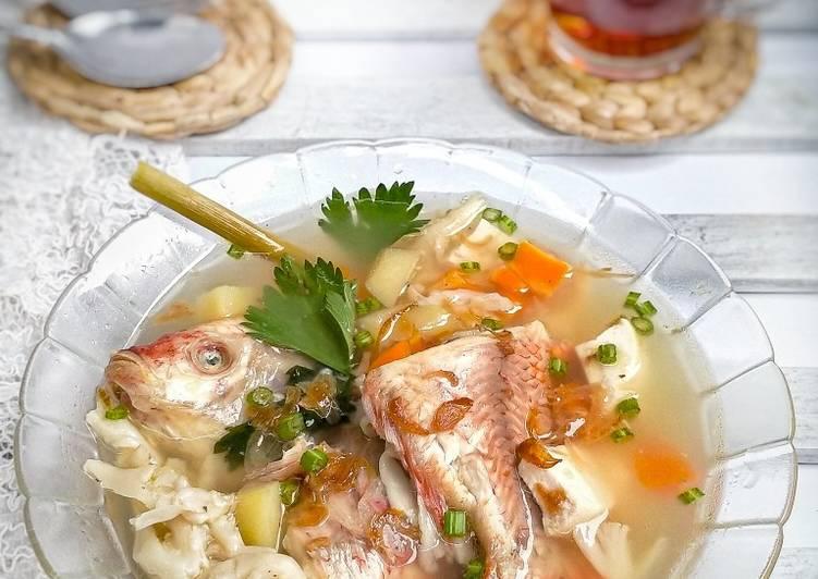 307. Sup Ikan Nila Ala Sushi Tei