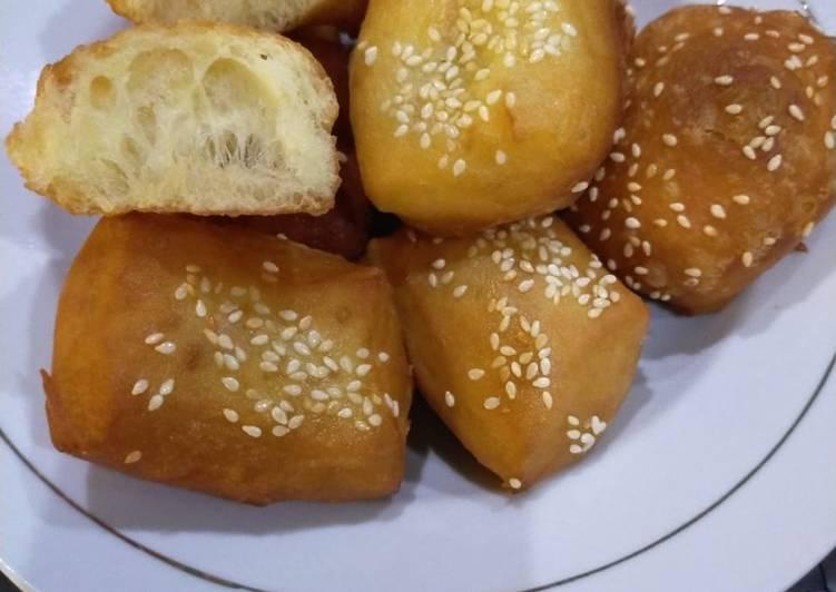 Resep Odading / roti goreng / bolang baling empuk…
