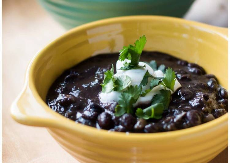 Black Bean Soup!, Choosing Fast Food That's Very good For You