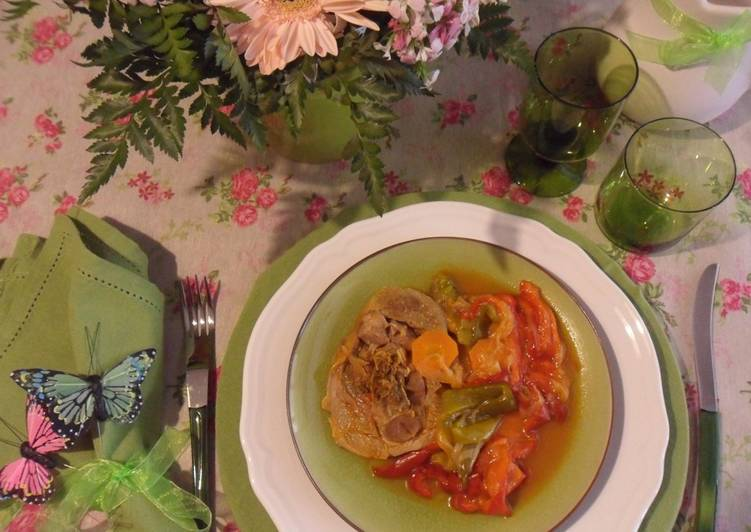 How to Cook Delicious Ossobuco di tacchino  light