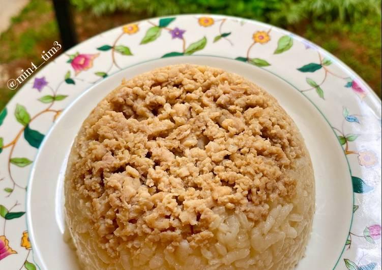 Nasi Tim Ayam Kampung