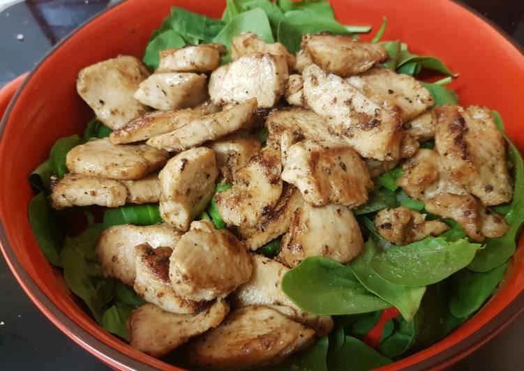 My Garlic Buttered Chicken. 😁