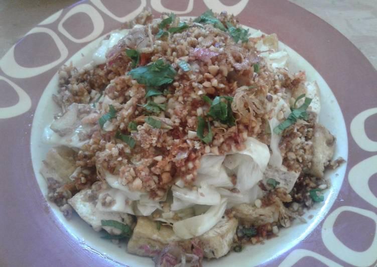 Recipe: Delicious Kupat Tahu Blabak – Magelang Indonesia