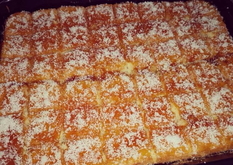 Recipe of Speedy Vanilla Sponge Cake