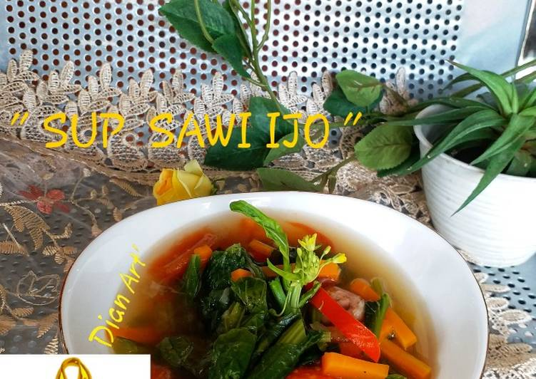 ** Sup Sawi Ijo **