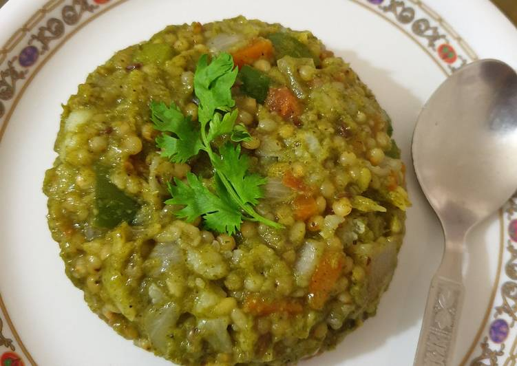 How to Prepare Most Popular Jawar mint khichadi. (Sorghum)