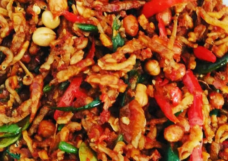 Resep Sambal Goreng Tempe Teri / Resep Membuat Sambal Goreng Teri Kacang Enak Info Resep Masakan