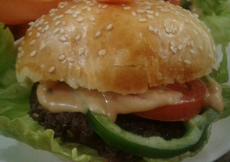 Whosayna's Beef Burgers - Laurie G Edwards
