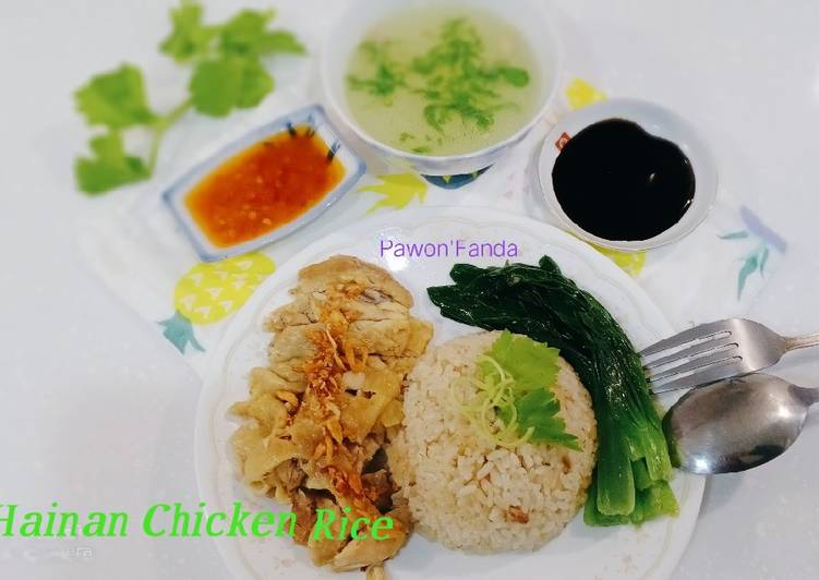 Hainan Chicken Rice/Nasi Ayam Rice Coocker