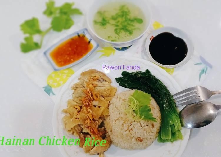 Hainan Chicken Rice/Nasi Ayam Rice Coocker