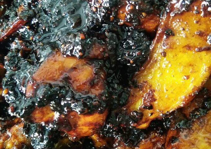 Blackpaper Ayam Kicap Makngah