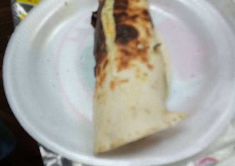 Recipe: Appetizing Breakfast Burrito