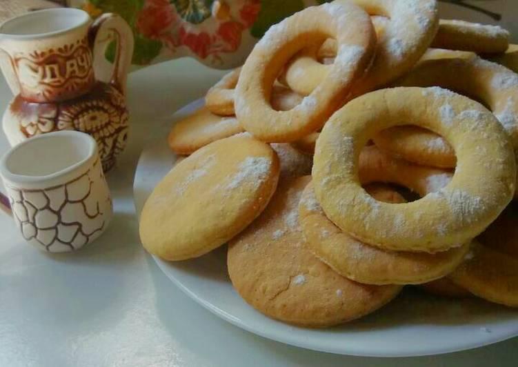 печенье на желтках рецепт с фото они там