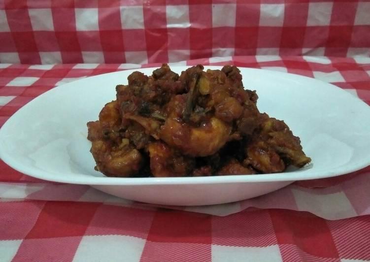 Resep Ayam rica-rica pedas manis, Enak Banget