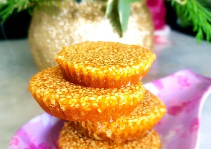 Caramelized jaggery Cupcake