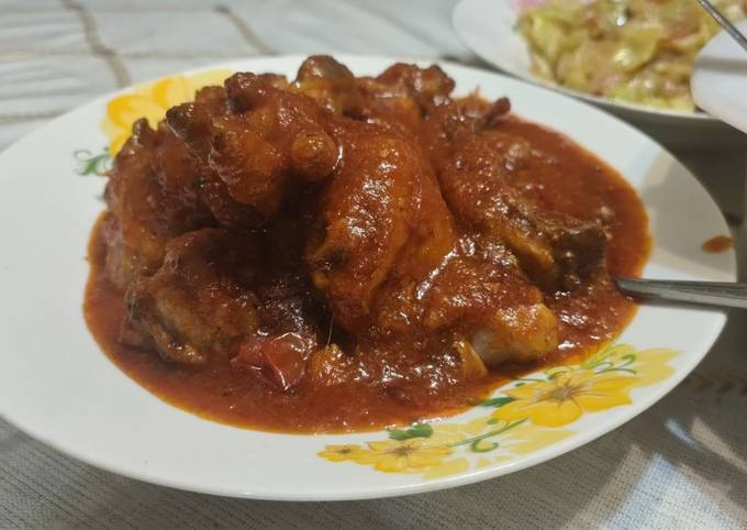 Ayam Masak Merah Bujang
