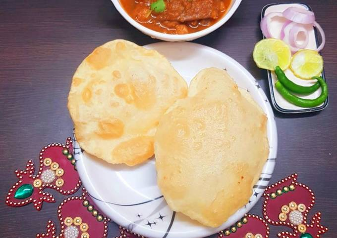 How to Prepare Delicious Chole bhature