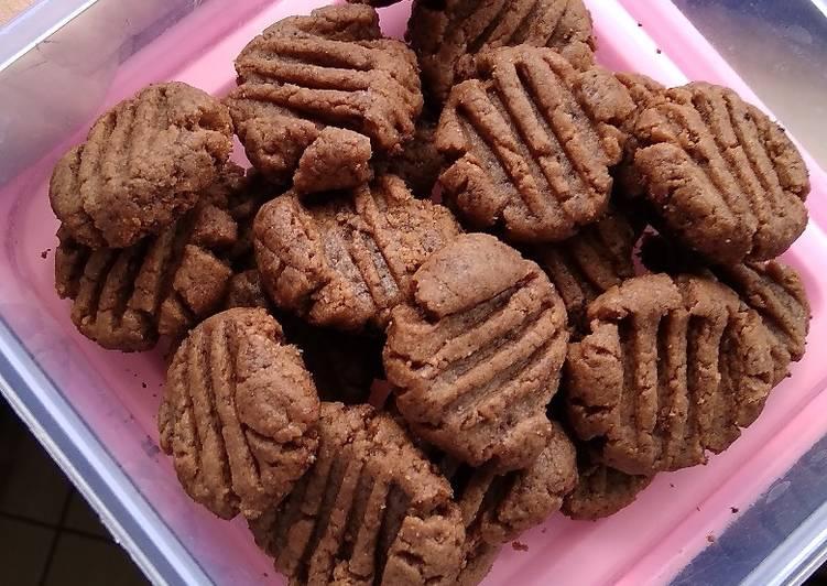 Cookies Cokelat simple teflon