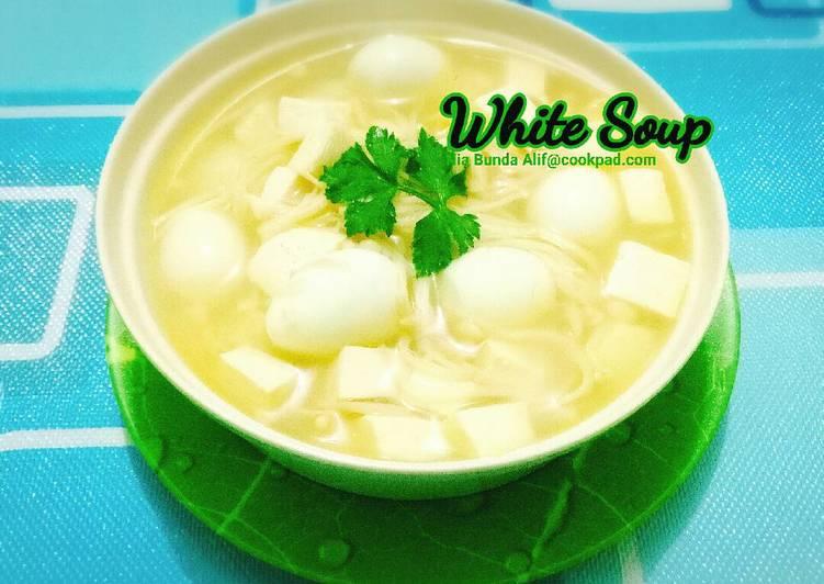 White Soup (menu batita 1y+)