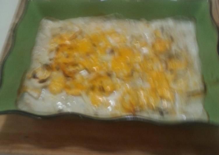 Creamy White fish and Potatoes