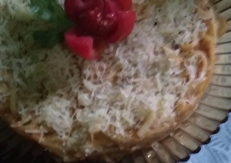 Spaghety panggang sehat