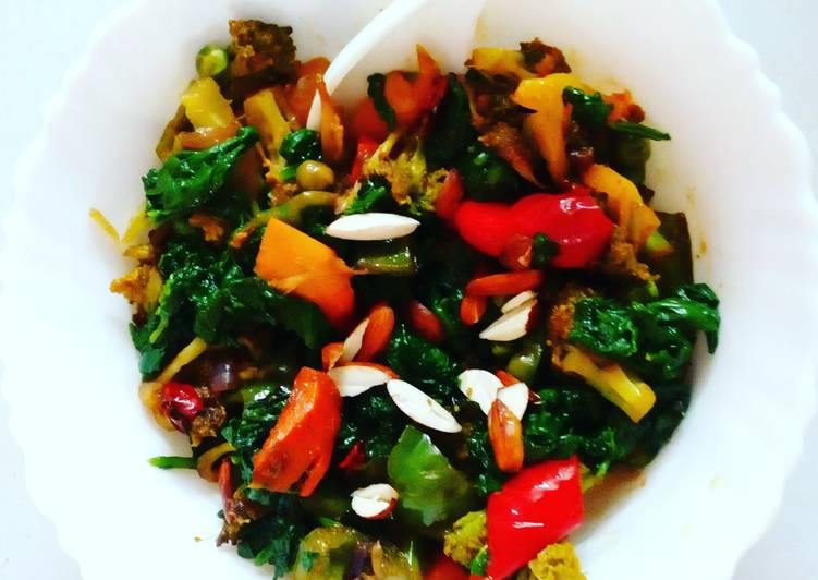 How To Improve  Mixed veg curry