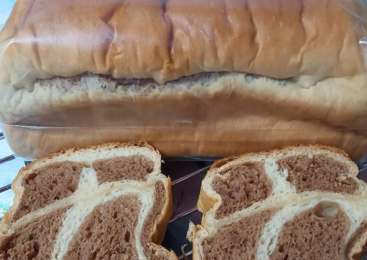 Resep Roti tawar tanpa telor Terbaik
