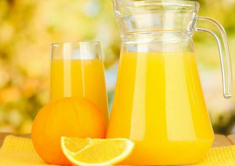 Super economy home made Orange Juice