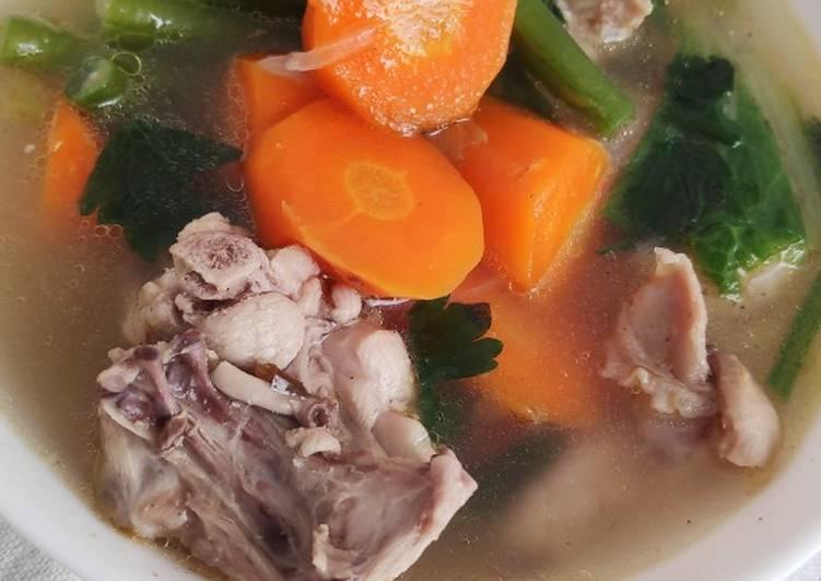 Sop (Tetelan) Ayam