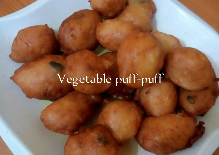 Easiest Way to Cook Yummy Vegetables Puff-puff